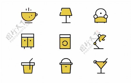 趣味图标icon设计