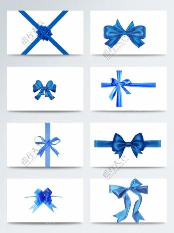 蓝色蝴蝶结
