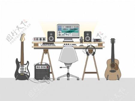 音乐家工作台