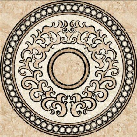 欧式简约花纹瓷砖贴图