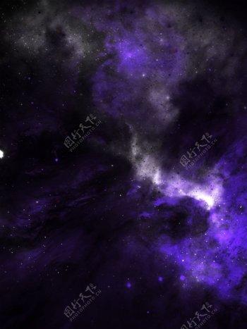 原创宇宙浩瀚星空繁星梦幻背景素材
