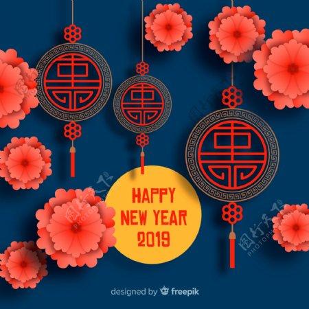 2019年精致春节灯笼和挂饰