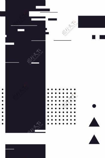 UI素材点不规则白色矢量背景