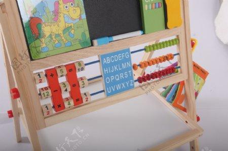 支架式儿童画画板磁性小黑板