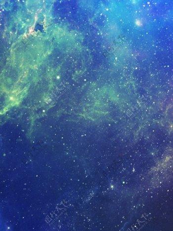 科幻蓝色背景素材