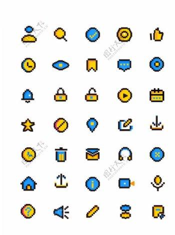 像素风手机主题icons
