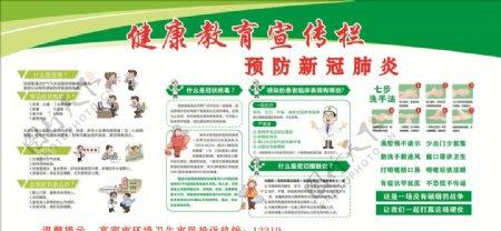 健康教育新冠肺炎流行性感冒