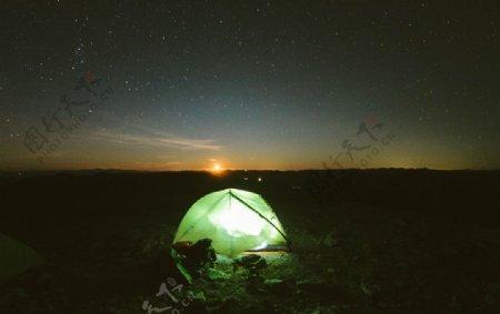 帐篷户外住宿