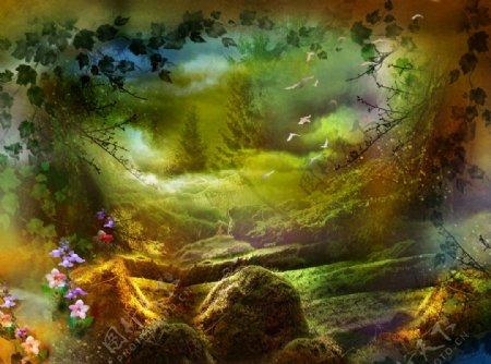梦幻迷宫童话树林故事