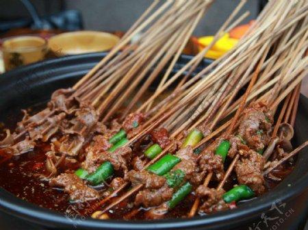 嫩牛肉串串