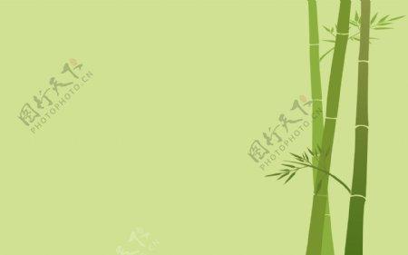 简笔画竹子背景