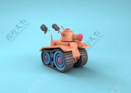 C4D坦克