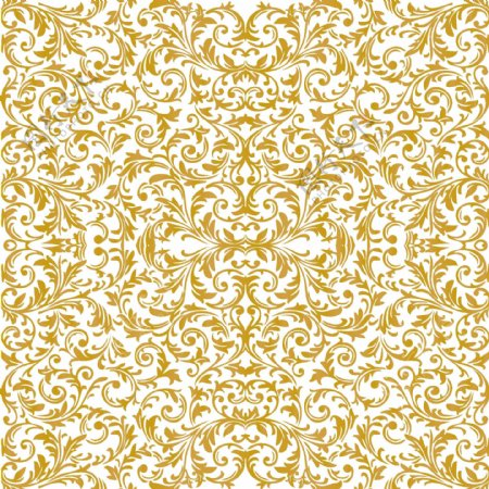 古典欧式风格矢量花纹底纹