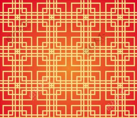 中国正方形图案