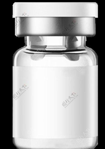 冻干粉溶解液瓶子效果图
