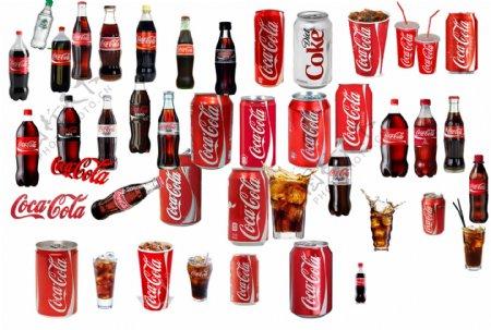 可口可乐素材