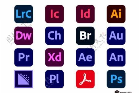 Adobe图标系列图标