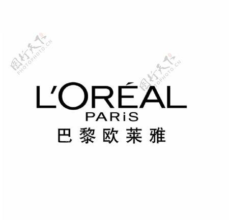 巴黎欧莱雅logo图片