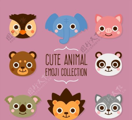 可爱动物头像图片