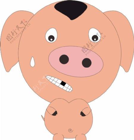 绘制小猪图片