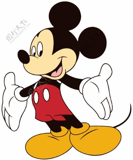米奇米老鼠动漫图片