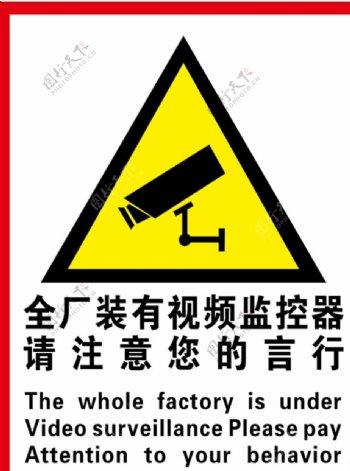 安装视频监控器图片