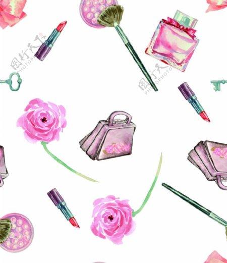 水彩花卉包包图片