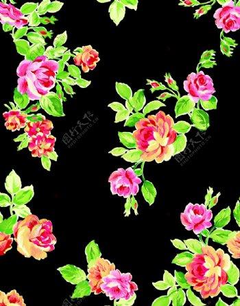水彩花卉玫瑰花图片