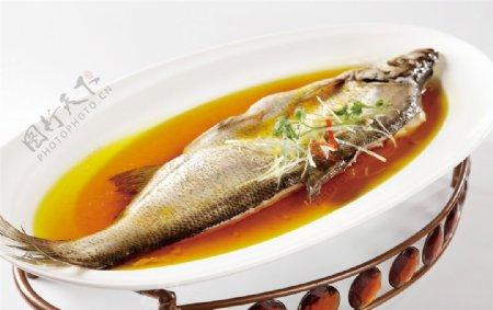 清蒸大白鱼图片