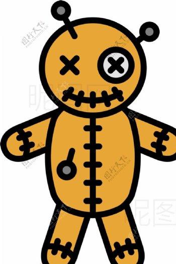 恐怖娃娃图片