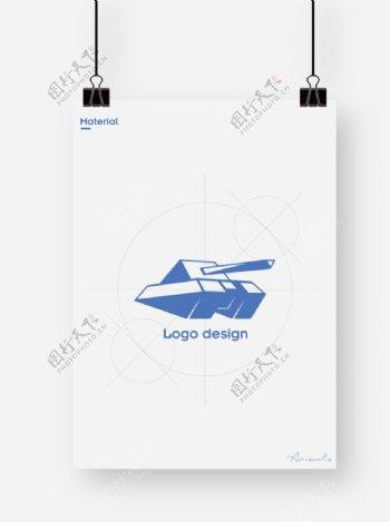 标志logo坦克图片