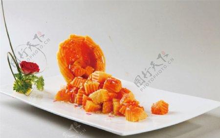 桂花木瓜图片