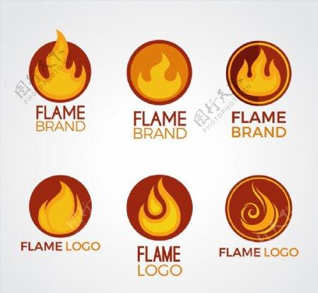 创意火焰商标图片