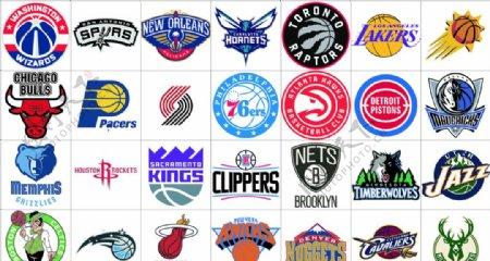 NBA队标标志LOGO图片