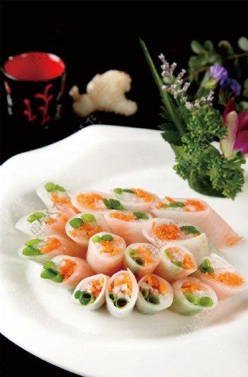 珊瑚菜卷图片