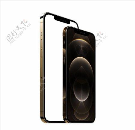 iphone12金色苹果手机图片