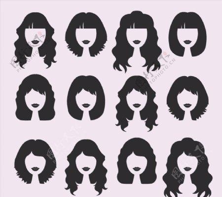 女子发型设计图片