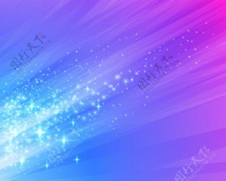 光耀星光背景图片