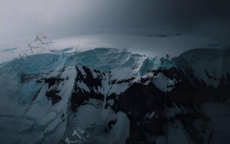 雪山质感纹理白色背景图片
