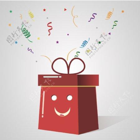 微笑礼品盒图片