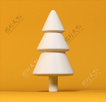 均匀的松树冰淇淋冰棍图片