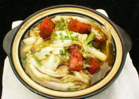 大白菜烧肉图片