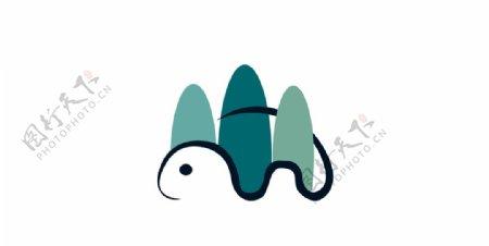 小乌龟logo图片