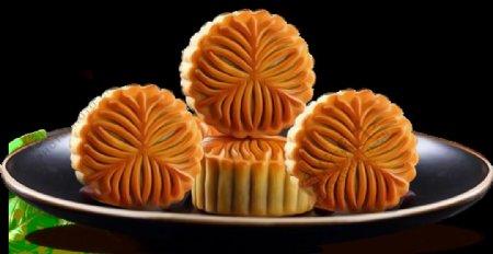 广式中秋月饼图片素材