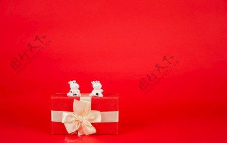 精致的礼物盒图片