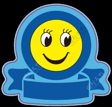 笑脸小标志图片