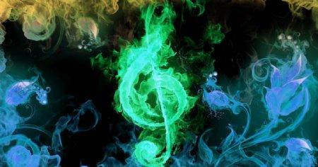 音符五线谱金曲音乐会模板图片