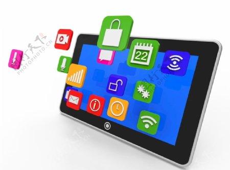 互联网iPad的键盘图片