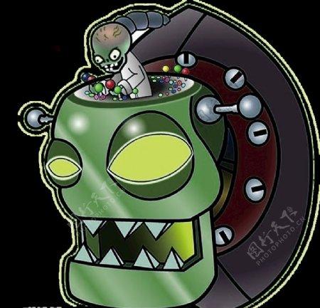 电玩僵尸图片