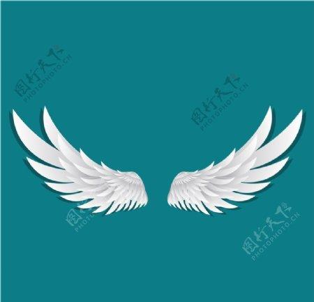 翅膀矢量图片
